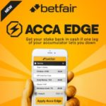 Bookmaker Betfair offers Acca Edge